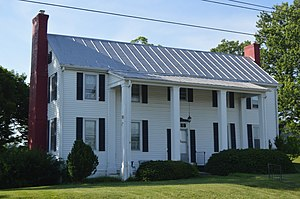 National Register of Historic Places listings in Botetourt County, Virginia - Image: Blue Ridge Hall