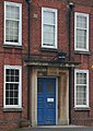 Blue light on the door - geograph.org.uk - 1710494.jpg
