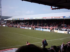 Blundell Park - Main Stand