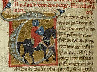 Rigaut de Berbezilh - Image: Bn F ms. 854 fol. 87v Rigaut de Barbezieux (1)