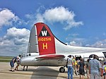 Boeing B-17 Flying Fortress Heavy Bomber at Wisconsin Air Show.jpg