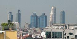Son yıllarda inşa edilen yüksek yapılarla Bomonti'nin çehresi değişmiştir.