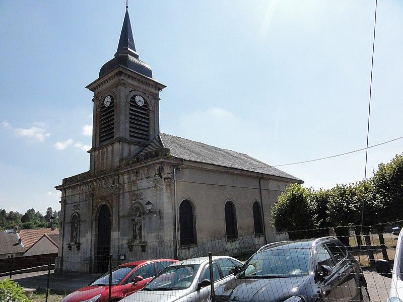 Boncourt-sur-Meuse (Meuse) église