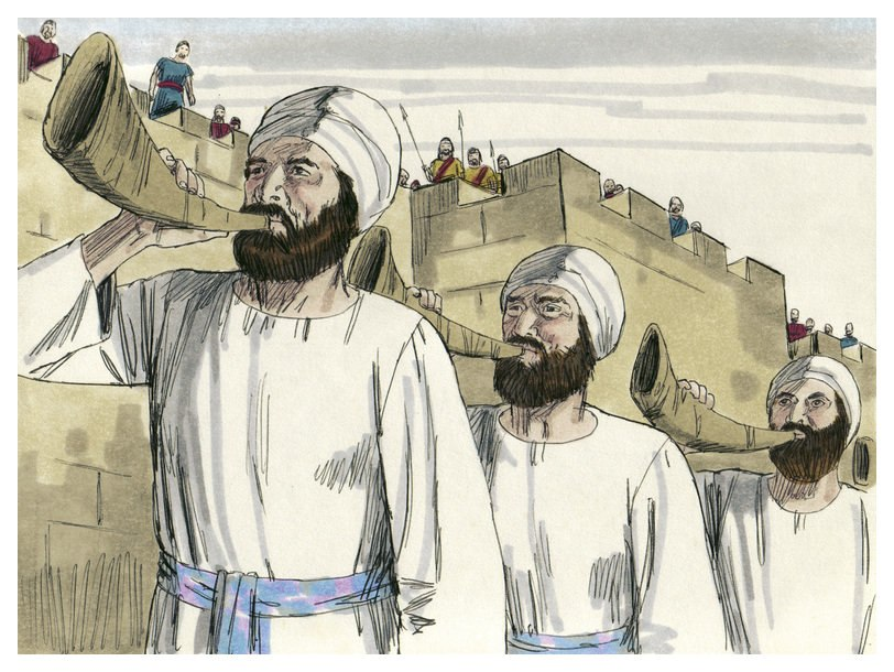 Book of Joshua Chapter 6-3 (Bible Illustrations by Sweet Media)