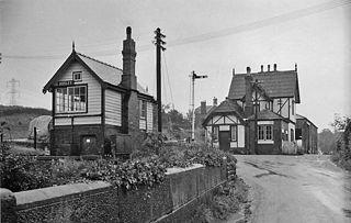 Bosley railway station Former station in Cheshire, England