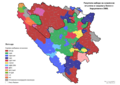 Bosnia and Herzegovina, mayoral elections, 2008-sr.png