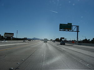 Nevada State Route 582 - Exit for Boulder Highway (SR 582) from I-515/US 93/US 95