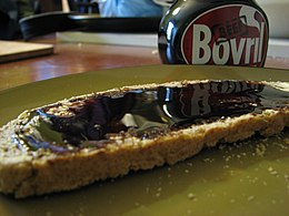 Bovril on 60% rye bread.JPG