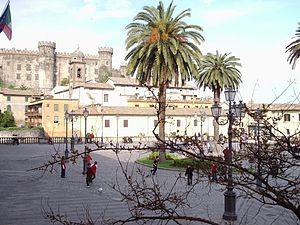 Bracciano - The historic center of Bracciano.