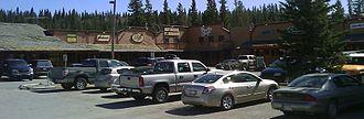 Bragg Creek - Shopping mall in Bragg Creek
