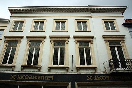 Breedhuis onder schilddak - Sint-Jakobsstraat 33 - Brugge - 29672.JPG