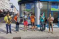 Brest - Fête de la musique 2014 - La Téléfanfare - 001.jpg