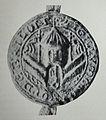 Brilon Altes Stadtsiegel, entstanden einige Jahrzehnte nach Stadtgründung.JPG