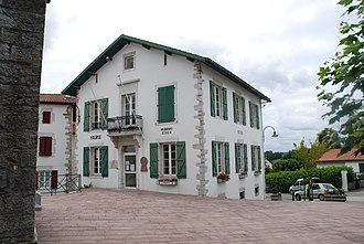 Briscous - The town hall of Briscous