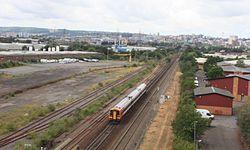 Bristol East Depot - SWT Class 159 passing.JPG