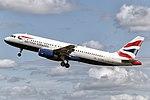 British Airways Airbus A320 (G-TTOB) Amsterdam Schiphol.jpg