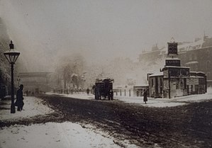 Brixton Road - Brixton Road in 1883