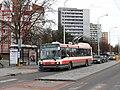 Brno, Žabovřesky, náměstí Svornosti, Škoda 21Tr č. 3040.jpg