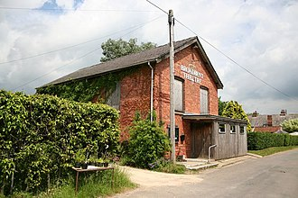 Jim Broadbent - The Broadbent Theatre, Wickenby, Lincolnshire, named after Roy Broadbent, father of Jim. Photographed 2006.