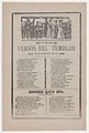 Broadsheet with songs relating to the earthquake that occurred on March 26, 1908 MET DP868007.jpg