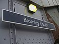 Bromley South stn signage.JPG