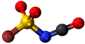 Bromosulfonyl isocyanate3D.png