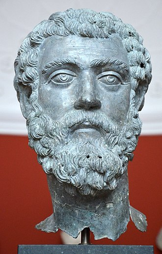 Septimius Severus - Bronze head of Septimius Severus, from Asia Minor, c. 195-211 AD, Ny Carlsberg Glyptotek, Copenhagen