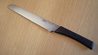 Bread knife - A modern bread knife