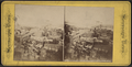 Brooklyn Bridge, bird's-eye view from Tribune building, from Robert N. Dennis collection of stereoscopic views.png