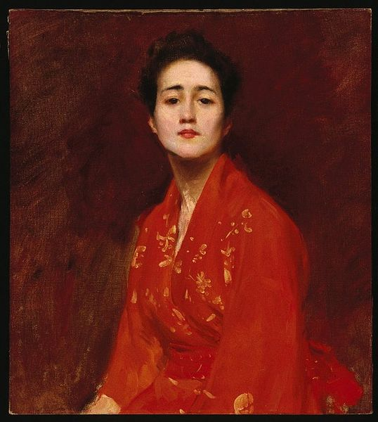 File:Brooklyn Museum - Study of a Girl in Japanese Dress - William Merritt Chase.jpg