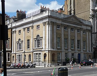 François Benjamin Courvoisier - Brooks's club in St James's Street, London, where Lord William Russell spent the day before the crime.