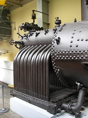Water-tube boiler - Brotan boiler