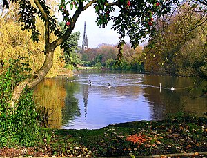 Broughton, Salford - Image: Broughton Park