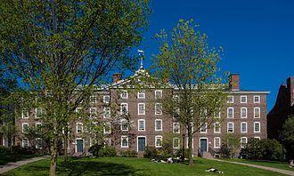 University Hall (Brown University) - Image: Brown's University Hall in 2007