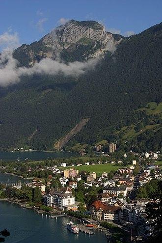 Ingenbohl - Image: Brunnen schwyz