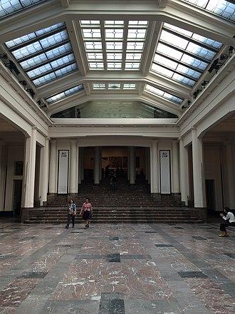 Centre for Fine Arts, Brussels - Image: Brussels Bozar exhibition room
