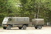Bucher de l'armée suisse au Lac Noir