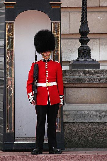 English: Buckingham Palace Guard