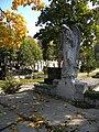 Bucuresti, Romania. Cimitirul Bellu Catolic. Un alt inger trist intr-o zi de octombrie 2017.jpg