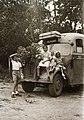 Budapestvidéki Autóbuszközlekedési Részvénytársaság (BART) Opel Blitz típusú autóbusza. Fortepan 14715.jpg