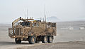 Buffalo Vehicle Part of Talisman Suite in Convoy in Afghanistan MOD 45153768.jpg
