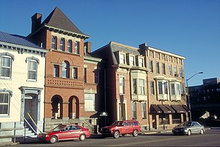 North Wheeling Historic District United States historic place