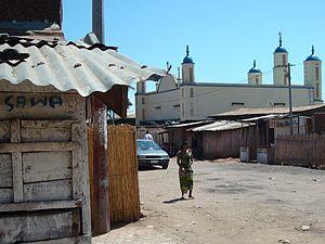 Islam in Burundi - A mosque in Bujumbura