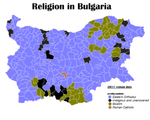 Religion in Bulgaria