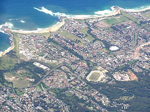 Bulli, New South Wales - Aerial view of Bulli