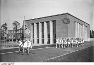 Haus des Deutschen Sports - Deutsches Sportforum, Berlin-Grunewald