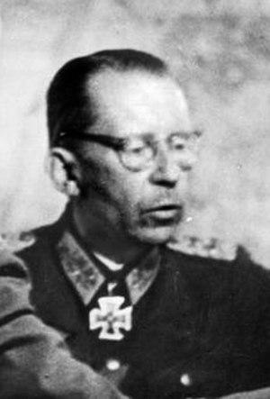 Gotthard Heinrici - Gotthard Heinrici in 1943.