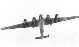 Amerikabomber - Image: Bundesarchiv Bild 146 1995 042 37, Schwerer Bomber Messerschmitt Me 264 V1