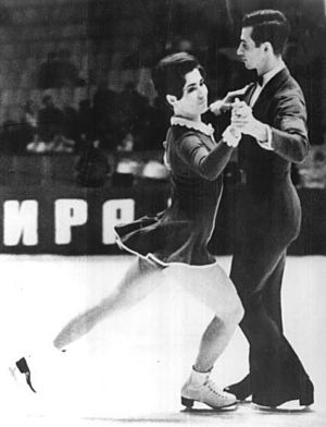 Lyudmila Pakhomova - Pakhomova and Gorshkov in 1969