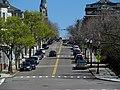 Bunker Hill Street from Sullivan Square, April 2017.JPG